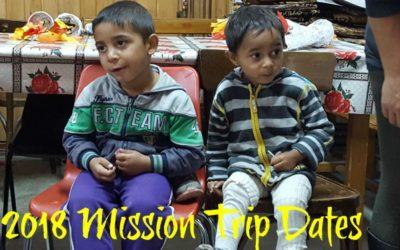 October 17/27 Mission Trip