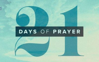 21 Days of Prayer is almost here!