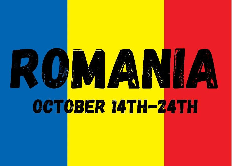 October Mission Trip Preview: Romania