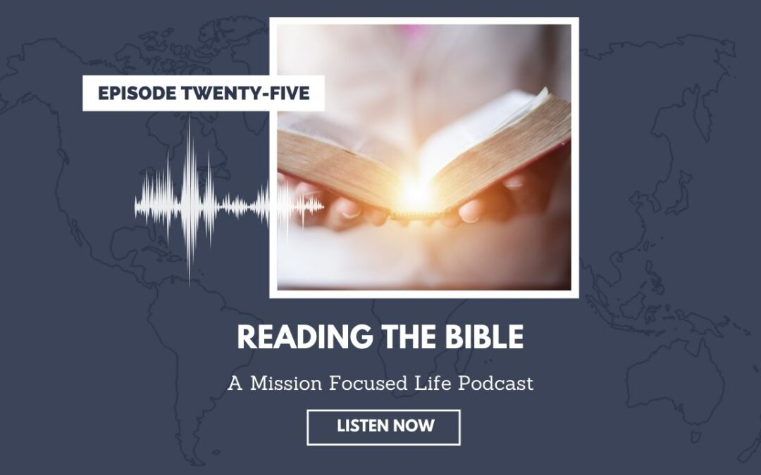 025: Reading the Bible