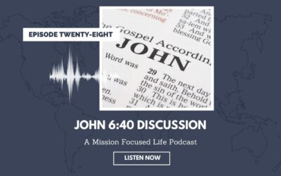 028: John 6:40 Discussion